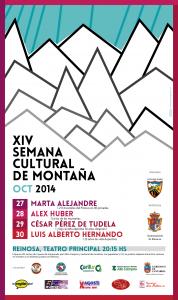cartel semana montaña 2014