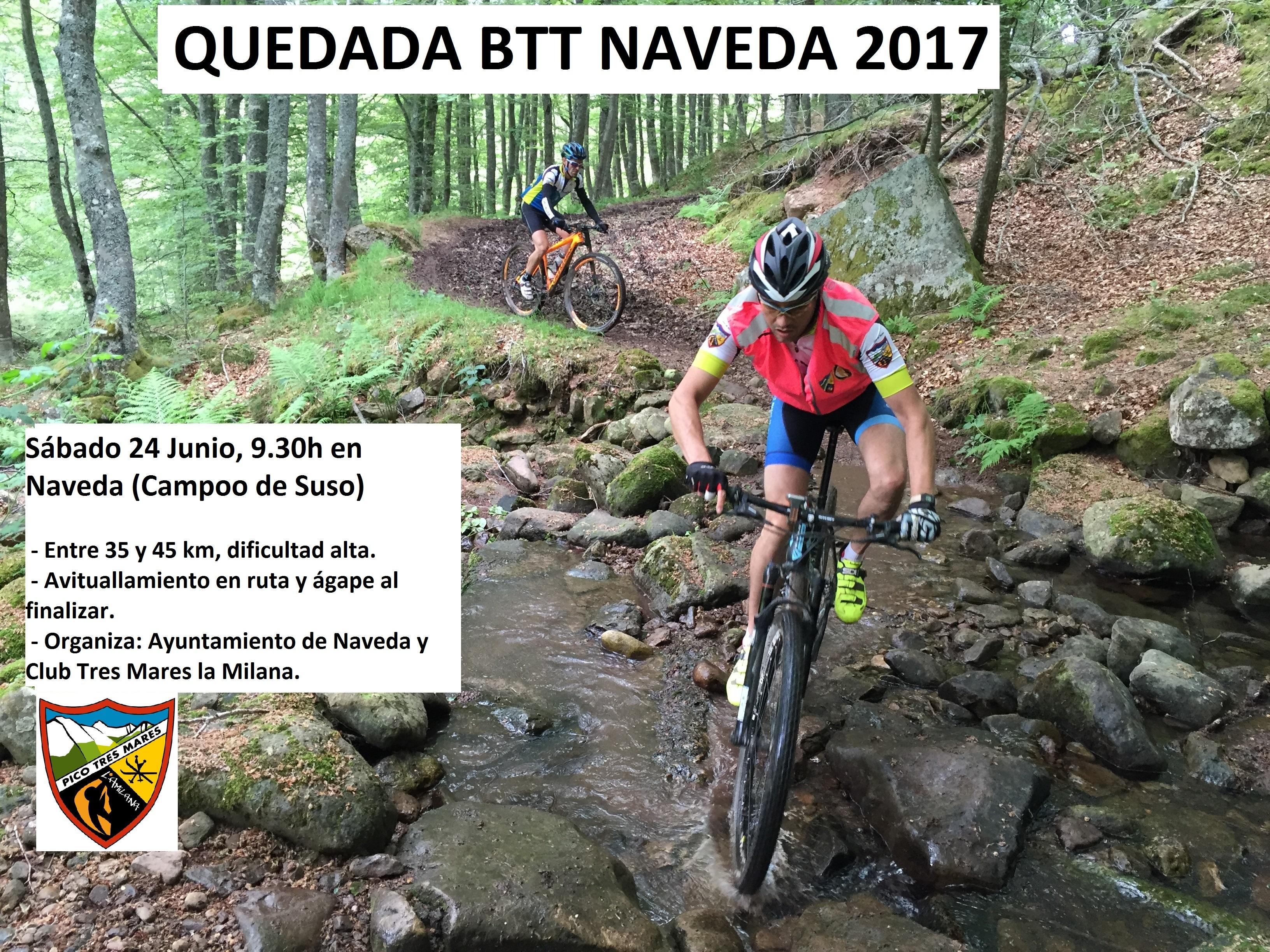 QUEDADA BTT NAVEDA, 24 JUNIO 2017