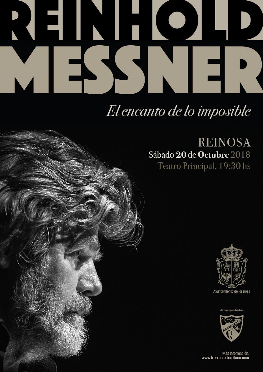 REINHOLD MESSNER EN REINOSA, SABADO 20 OCTUBRE