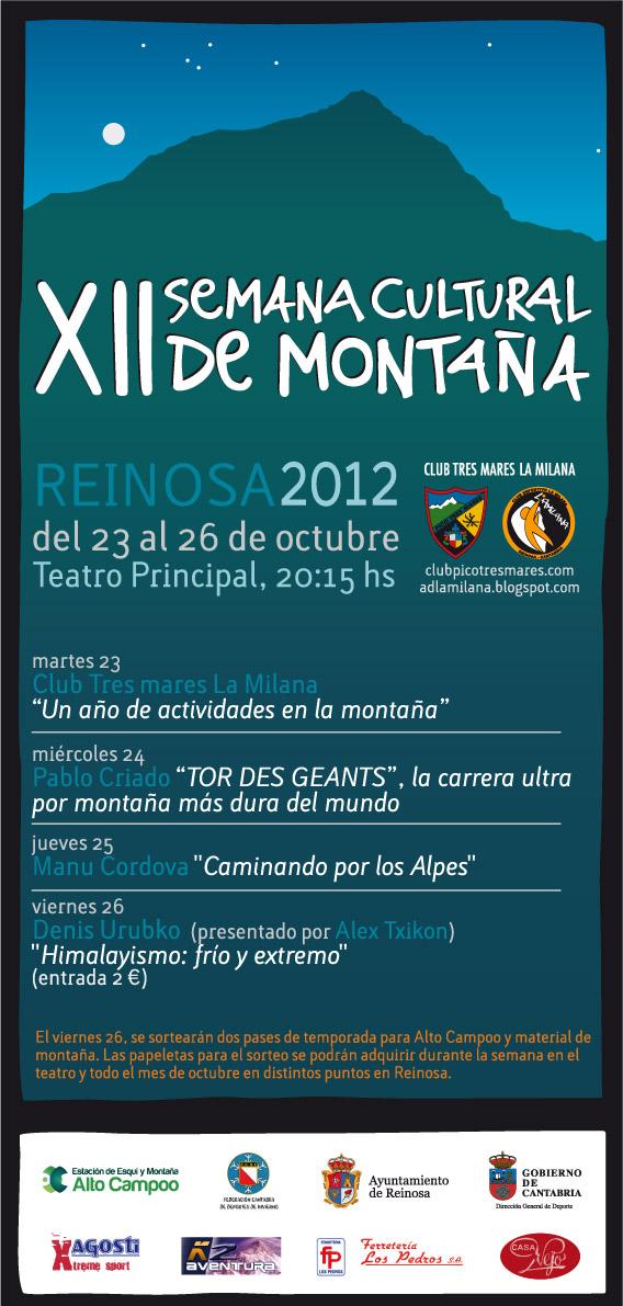 SEMANA DE LA MONTAÑA 2012
