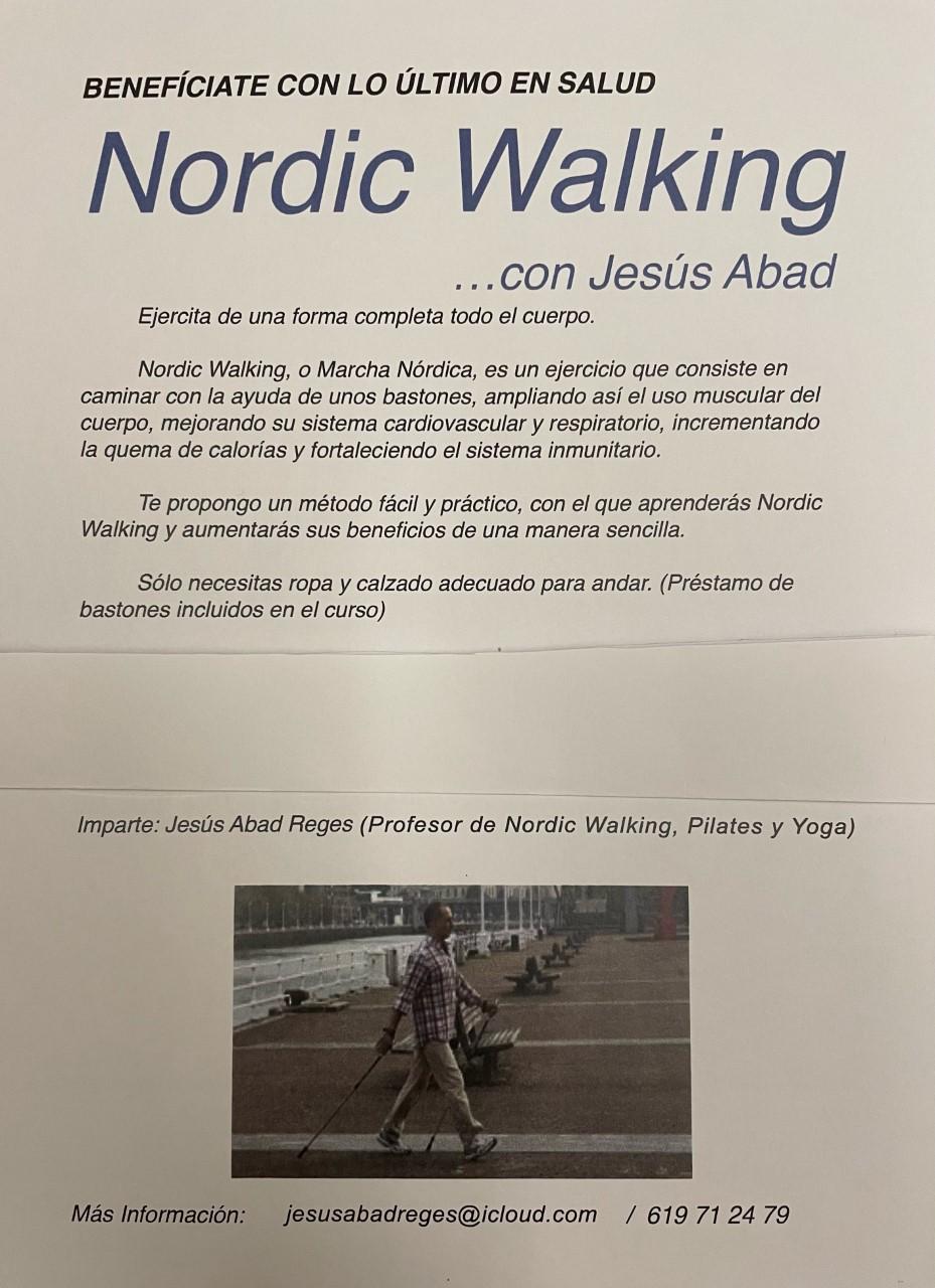 CURSO NORDIC WALKING, DOMINGO 21 MARZO